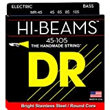 DR Strings Hi-Beam-Stainless Steel Round Core 45-105