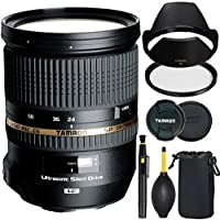 Tamron SP 24-70mm f/2.8 DI VC USD Lens for Canon Cameras + SSD Deluxe Bundle