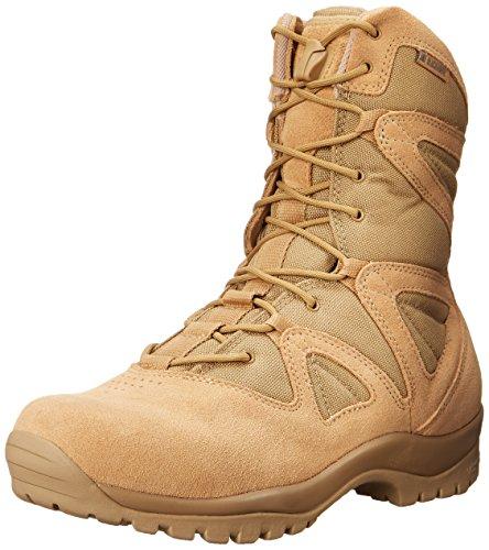 Blackhawk  Mens Ultralight Side Zip Suede Tactical Boot  Tan  9 5 M Us