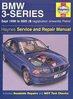 bmw 3 series petrol service and repair manual 1991 to 1999 (haynes