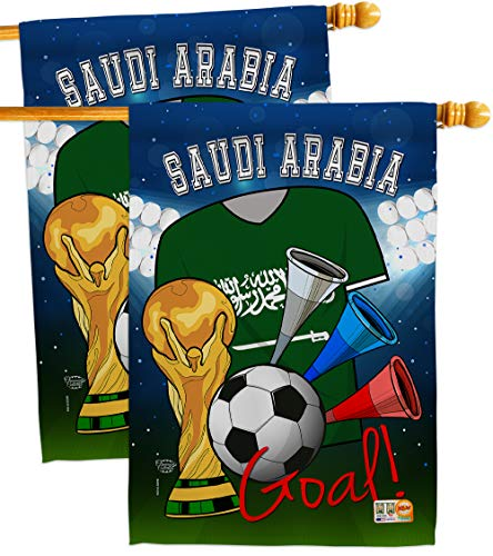 Ornament Collection HP192109-BOAE World Cup Saudi Arabia Soccer Interests Sports Impressions Decorative Vertical 28
