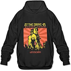 MG We Love At The Drive In Tour 2016 Hooded Sweatshirt For Men Black