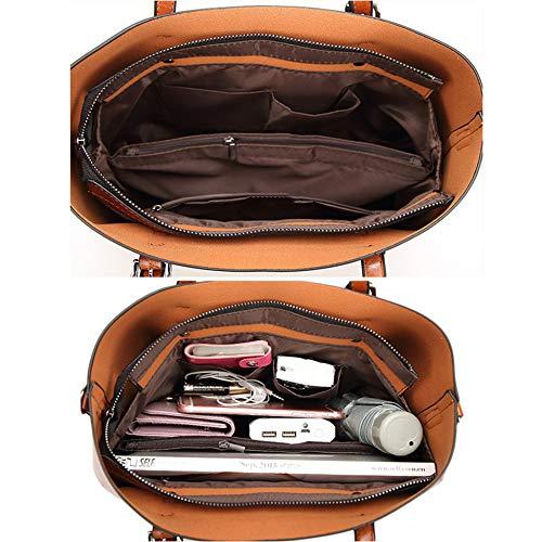 Grande Donna Spalla pu Crossbody Semplice Bag Mano A Messenger Brown Pelle Borse Pangoie,borsa Tracolla Borsetta Od8w5qSdx