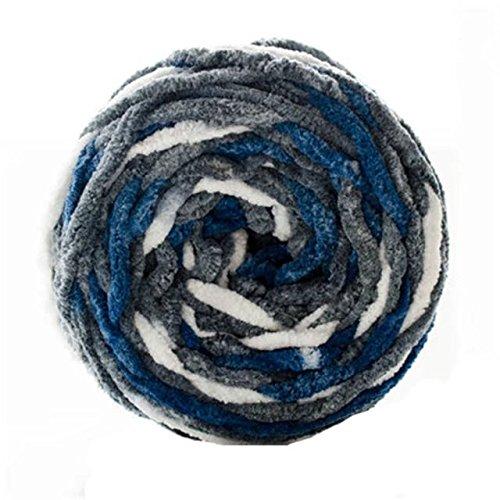 Celine lin One Skein Natural Baby Blanket Big Warm Ball Yarn Knitting (Blanket Yarn)