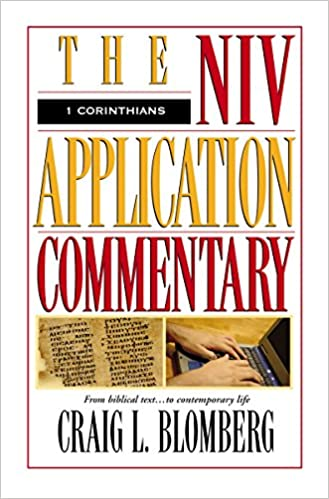 1 corinthians the niv application commentary craig l blomberg amazoncom books