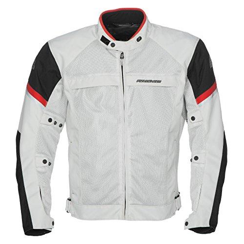 Fieldsheer Adventure Pant - Fieldsheer Men's Moto Morph Jacket (Silver/Black, Small)