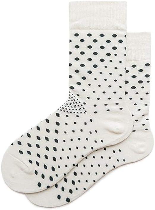 WZDSNDQDY Calcetines de algodón de Tubo para Hombre patrón de Puntos Blancos Comodidad Transpirable Calcetines de Skate de Hip Hop Calcetines de Baloncesto Callejero: Amazon.es: Hogar