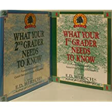 2 Volumes of The Core Knowledge Series: What your 1st Grader Needs to know & What your 2nd Grader Needs to know