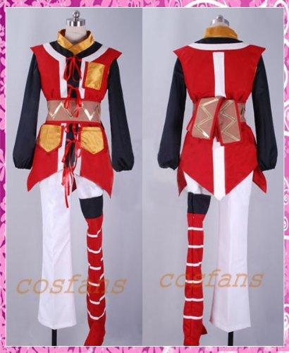 コスプレ衣装 テイルズオブヴェスペリア風 リタ 男性Sサイズ