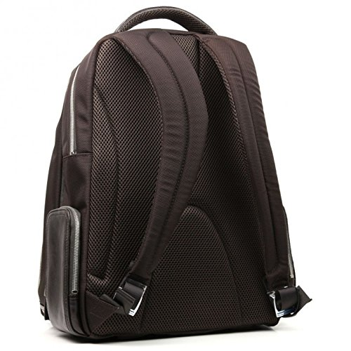 Piquadro Computer Backpack with iPad Compartment, Dark Brown, One Size