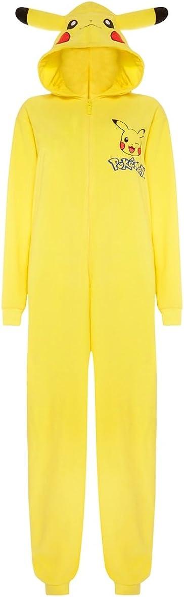 Disfraz pijama de Pikachu para hombre amarillo Yellow/Pokemon ...