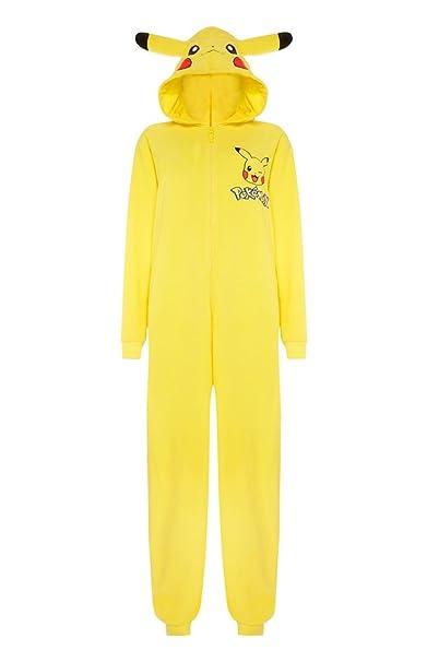 Disfraz pijama de Pikachu para hombre amarillo Yellow/Pokemon