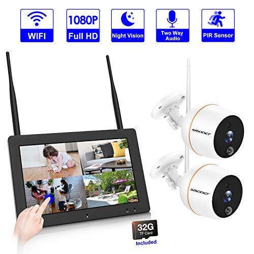 (【PLUG&PLAY】4CH Wireless Security Camera System,SMONET 7