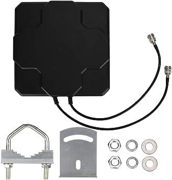 Antena direccional, 4G LTE 18dBi Antena direccional Plana ...