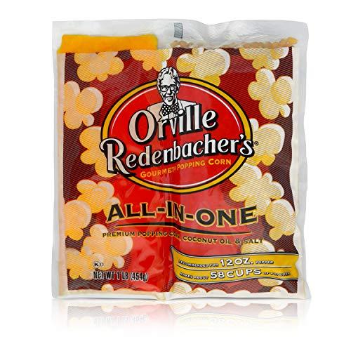 Orville Redenbacher's All in One Coconut Oil Popcorn Kit, 16 Ounce (Pack of 24)