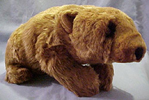 Lou Rankin Plush Farnsworth Cinnamon Bear Stuffed Animal