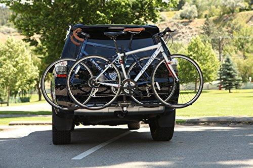 Swagman XC Rack de montaje de 2 bicicletas para campo traviesa (receptor 1/1/4 y 2 pulgadas)