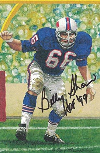 detailing eb733 af4c4 O.J. Simpson Autographed Buffalo Bills Goal Line Art Card w ...