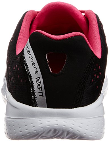 Womens Sneaker Hot 2 Skechers Pink Lightweight Presto GOfit Black OHqwwSB