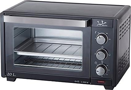 Jata HN621N Horno con grill capacidad 20 litros, 1400 W, 0 Decibeles, Negro