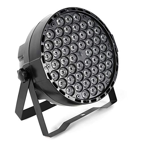 8 Packs Of 54 Monochrome Par Lights with DMX Beauty Plug,8PCS 54X3W Rgbw Led Par Light Dmx512 Stage Lamp Club Bar Dj Lighting Projector 8PC Flat Party Disco 7-Channel Dmx Control from LOYALHEARTDY19