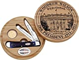 Cheap Case Cutlery CA09697 Woodrow Wilson Presidential Dollar Set Hunting Knives