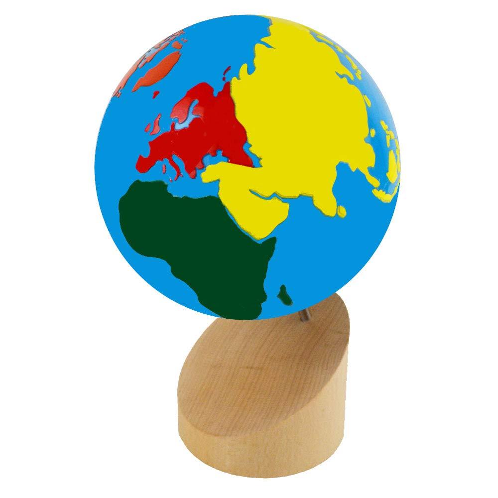 Kid Advance Montessori Globe - World Parts