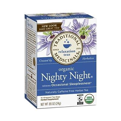 Traditional Medicinals Organic Nighty Night Tea, 16 Tea Bags