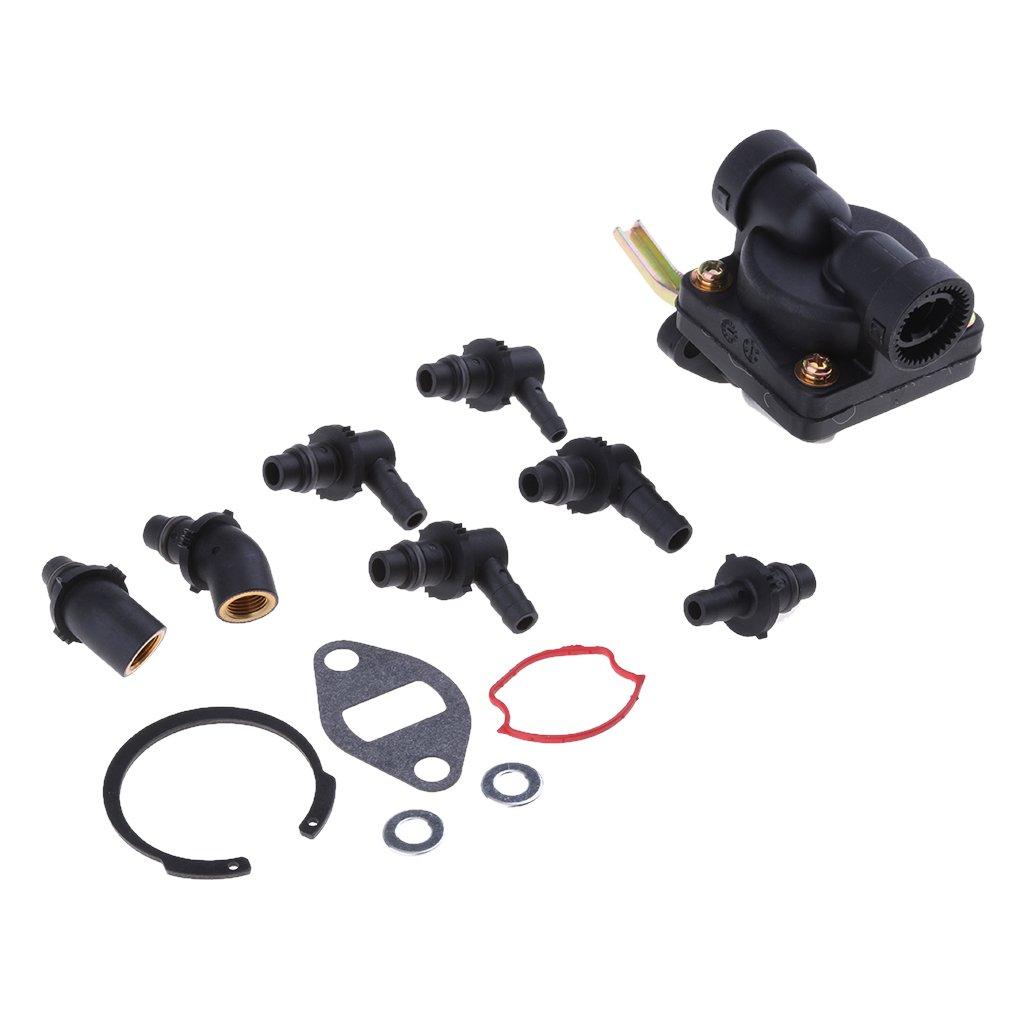 Homyl Fuel Pump Repair Kit for Kohler M18, M20, MV16, MV18, MV20, KT17, KT19