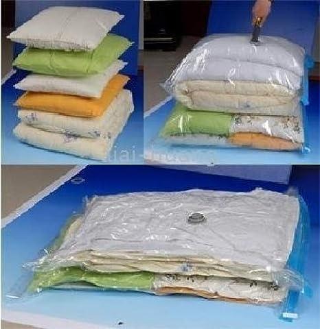 Bolsas al Vacío para Ropa Tamaño Mediano Ideal para Viajes - 50 x 70cm - Pack de 4