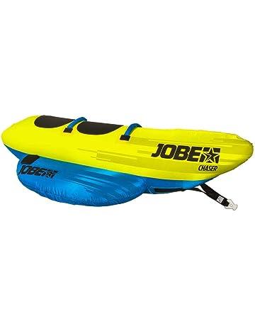 Jobe Chaser Banana 2 Personas Tubo Remolcable Funtube amarillo