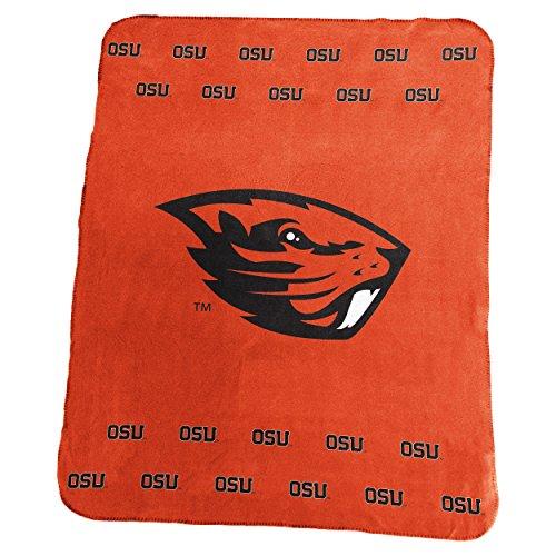 State Fleece Blanket (Logo Brands NCAA Oregon State Beavers Classic Fleece Blanket)