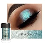 squarex Focallure 12 Colors Eye Shadow Makeup Pearl Metallic Palette Shimmer Glitter Cosmetic (Q)
