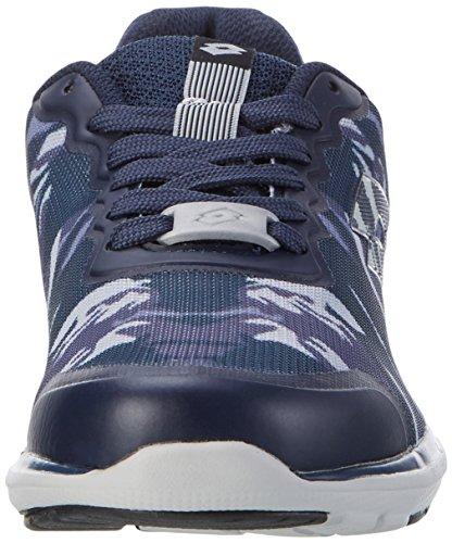 Lotto Cityride Ii Prt Amf, Zapatillas de Deporte Exterior para Hombre Azul (Camou/blu Avio)