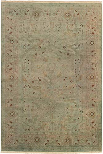 eCarpet Gallery Hand-Knotted Color Transition 6'1