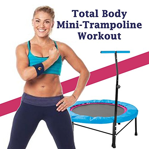 Total Body Mini-Trampoline Workout - The Ultimate Trampoline Jumping Fitness Workout (Screw Legs and Strong Bungees for All Levels!)