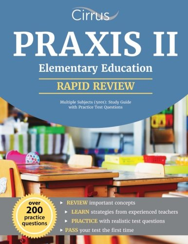 Praxis II Elementary Education Multiple Subjects (5001): Study Guide with Practice Test Questions (English Teaching Jobs For Non Native Speakers)