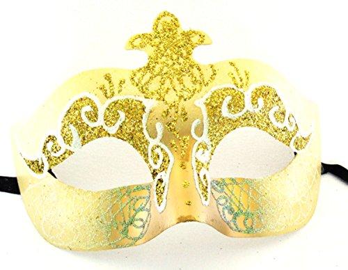 Goldilocks Mask Venetian Style Halloween Mardi Gras Party Costume Prom (Goldilocks Halloween)