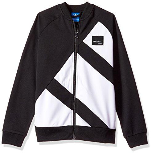 adidas Originals Tops | Big Boys' Kids EQT Track, Black/White, - Zipper Originals Adidas