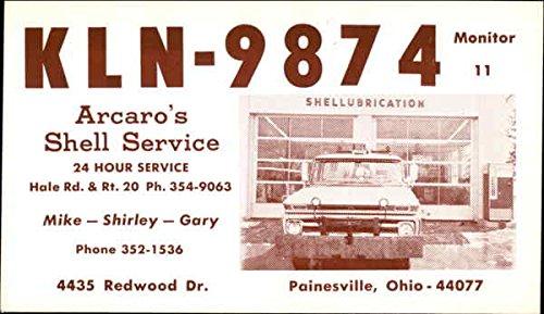 KLN-9874 QSL & Ham Radio Original Vintage Postcard
