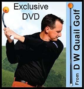 "Deluxe Orange Whip Golden Golf Swing Trainer Package Exclusive Training & Bonus DVD (Men & Ladies 5' to 5'5"")"