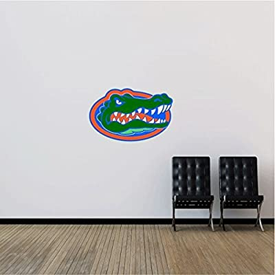"Florida Gators NCAA USA Logo Head College Sport Art Wall Decor Sticker 25"" x 16"""