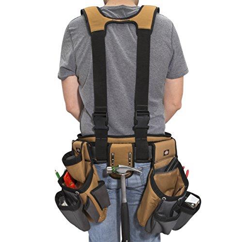 Dickies Gear 4-Piece 57023 Suspenders Steel Tool Belt – –