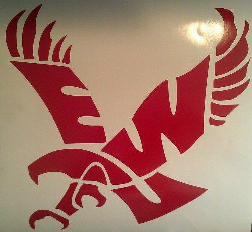 Eastern Washington Eagles Cornhole Decals - 2 Cornhole Decals