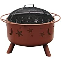 Deals on Landmann 28335 Big Sky Stars and Moons Fire Pit