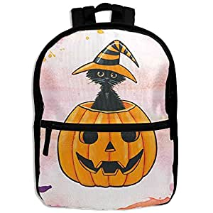 DGYEG44 Halloween Backpack School Bag Bookbag For Kids Boys Girls Womens
