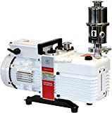 Across International SV5C.110-UL Ai SuperVac Commercial Grade 2-Stage Vacuum Pump with Filter for Ovens, 5.6 cfm UL/CSA