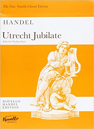 Dorsey music messiah by handel, the new novello choral edition.