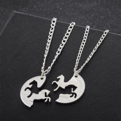 2pc-charm-animal-horse-necklaces-silver-coin-puzzle-pendant-women-men-party-chain-sweater-necklace-c