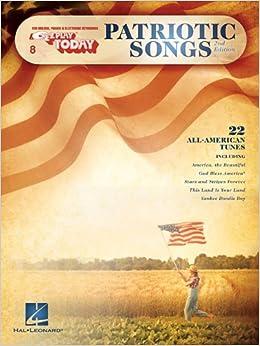 Book 8. Patriotic Songs (E-z Play Today)